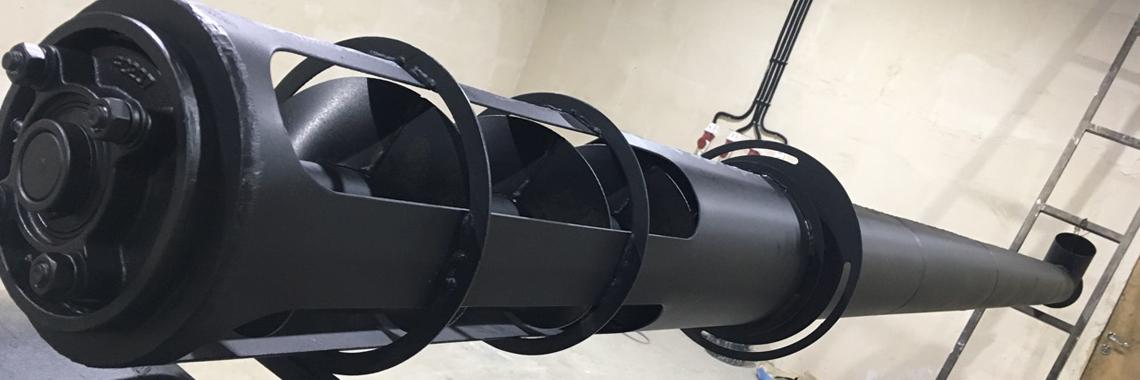 Шнековый транспортер производство